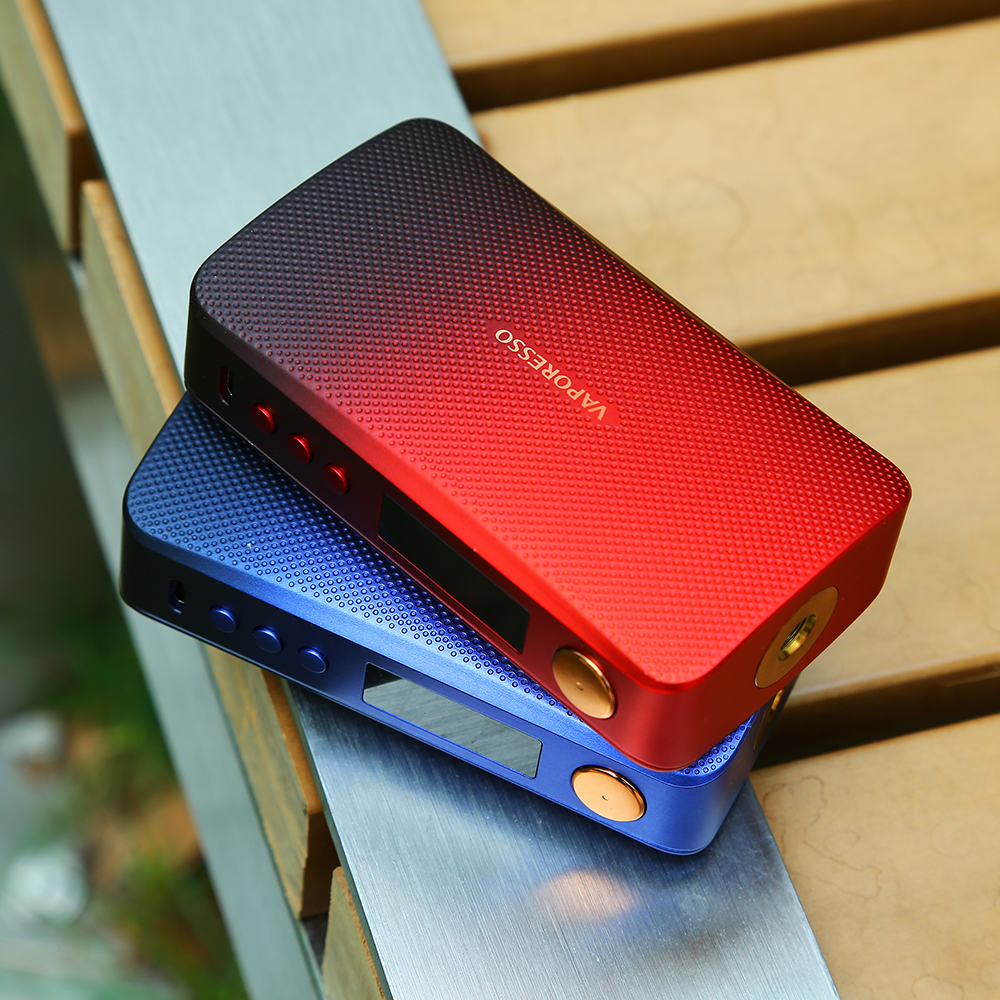 Original 220W Vaporesso GEN Mod Vape boîte Mod puissance par double batterie 18650 Compatible avec 510 atomiseur e cigarette VS Luxe Mod - 6