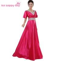 Dành cho người lớn fuschia bridesmaids giá rẻ a line satin dài red royal blue bridesmaid dresses dưới 50, với cap sleeves cửa hàng H1382