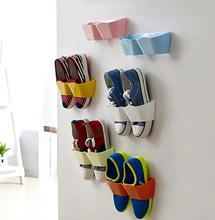 5 pcs/lot 2015 New Plastic Wall hanging type shoe rack DIY combination storage Storage Hanger