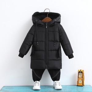 Image 4 - CROAL CHERIE Girls Jackets Kids Boys Coat Children Winter Outerwear & Coats Casual Baby Girls Clothes Autumn Winter Parkas