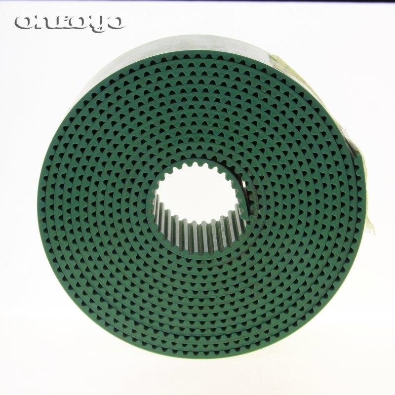 Color verde para marco de máquina de bordado Tajima y correa trapezoidal TAJIMA S5M BARUDAN verde SWF piezas de máquina de bordado