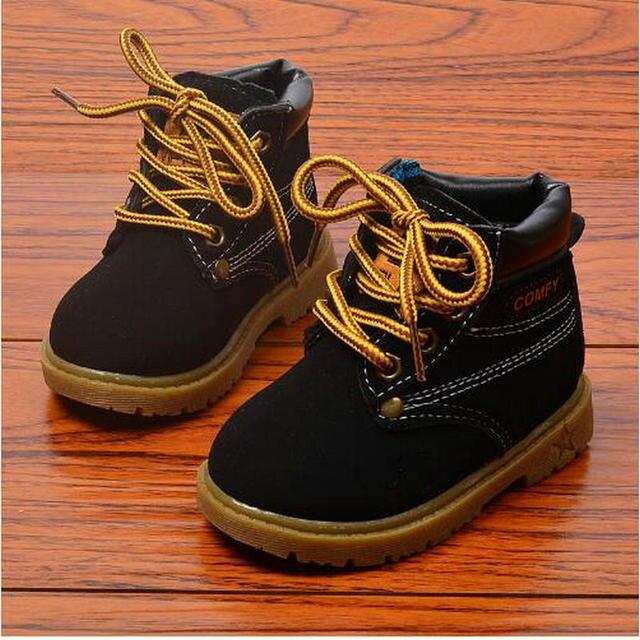 d0d0d7422d Wiosna Jesień Zima Dzieci Sneakers Martin Buty Dla Dzieci Buty Chłopcy  Dziewczyny Buty Na Co Dzień