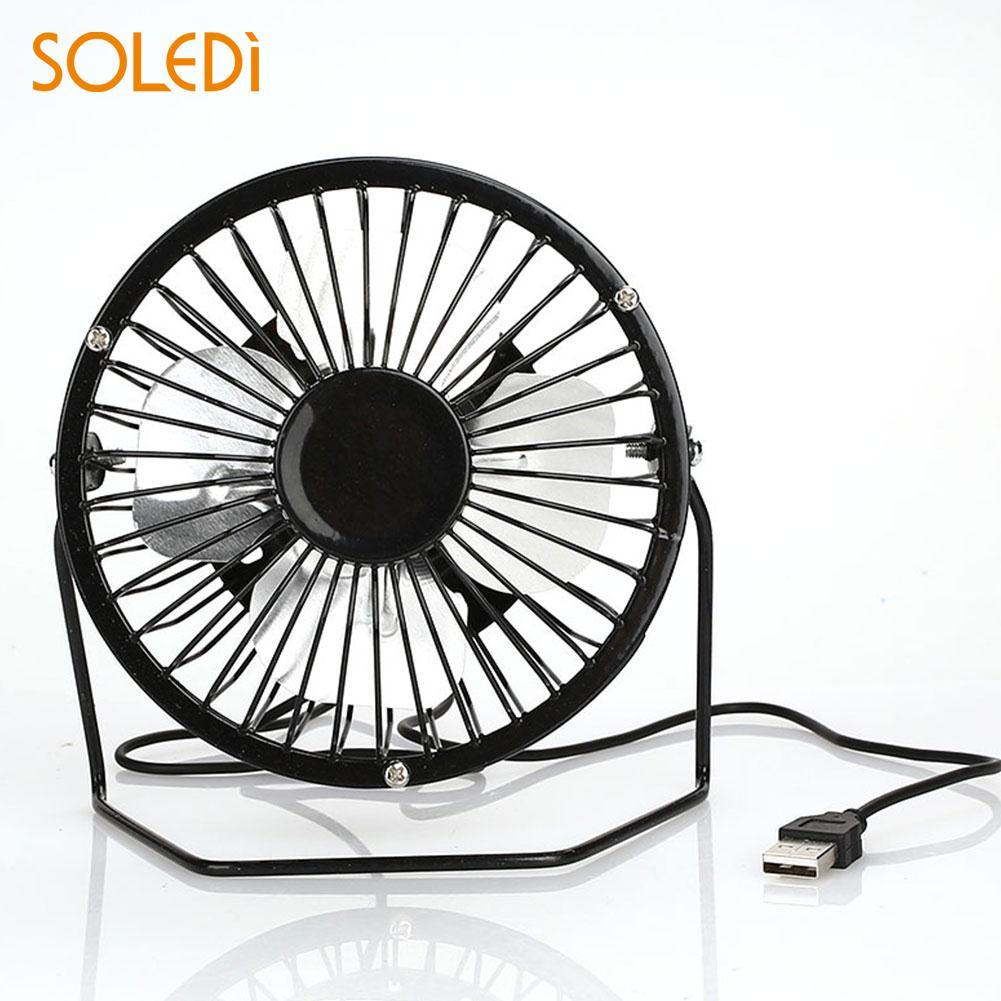 Mini USB Fan Economic Iron Power Bank Portable USB Fan Office Home For Computer Fan Electric Desk Cooling Fan Drop Shipping