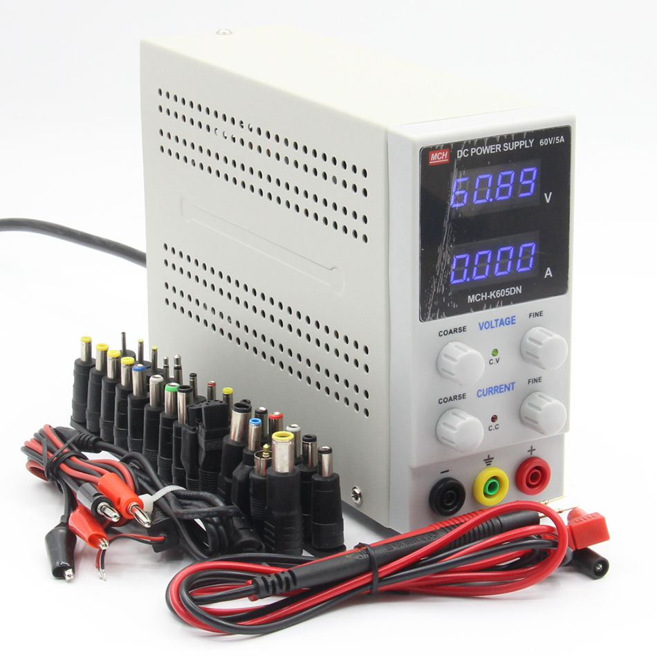 MCH-605DN 605D 4-digit display DC power supply 60V 5A digital high-precision ammeter rps6005c 2 dc power supply 4 digital display high precision dc voltage supply 60v 5a linear power supply maintenance