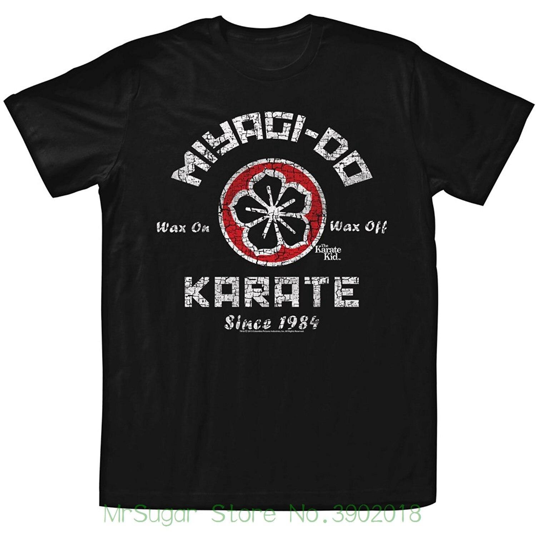 Американская классика Для Мужчинs Каратэ-Пацан Мияги сделать футболку забавная футболка Hipster лето