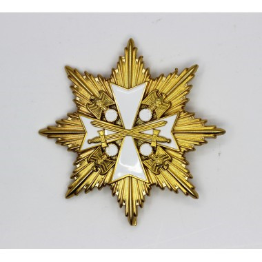 EMD .WW2 Grand Cross Of The Order Of The German Eagle In Gold With Star1