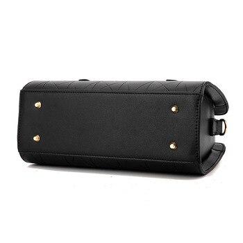 Bow-knot Leather Handbag  5