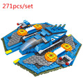2016 hot sale  ABS green plastic  Children's educational toys  Galaxia shuttle  birthday gift  Space Galaxy series guard ship