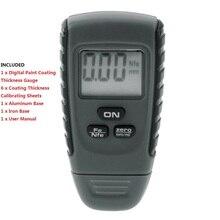 RM660/EM2271 Paint Coating Thickness Gauge Digital Meter Instrument Tester for Car Instrument Tools Digital Paint Coating Tool