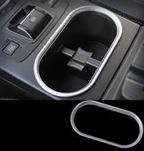 Sliver Car Water Cup Holder Trim Interior Glass Box Storage For Outback 2015 YT-73005