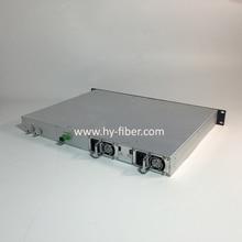 CATV 1310nm волоконно-оптический передатчик мощность 6 мВт(7.8dBm) SC/APC волокно порт Двойной источник питания HY-21-T13P06