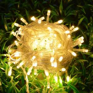Lawn Lamps Garden-Light Christmas Wedding-Decoration Patio Outdoor 10M Holiday 20M 220V