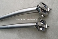 Titanium Ti-6AL/4V Bike Setback Seat post Seatpost 27.2mm / 31.6mm * 350mm / 400m / 450mm for Road / Mountain Bicycle