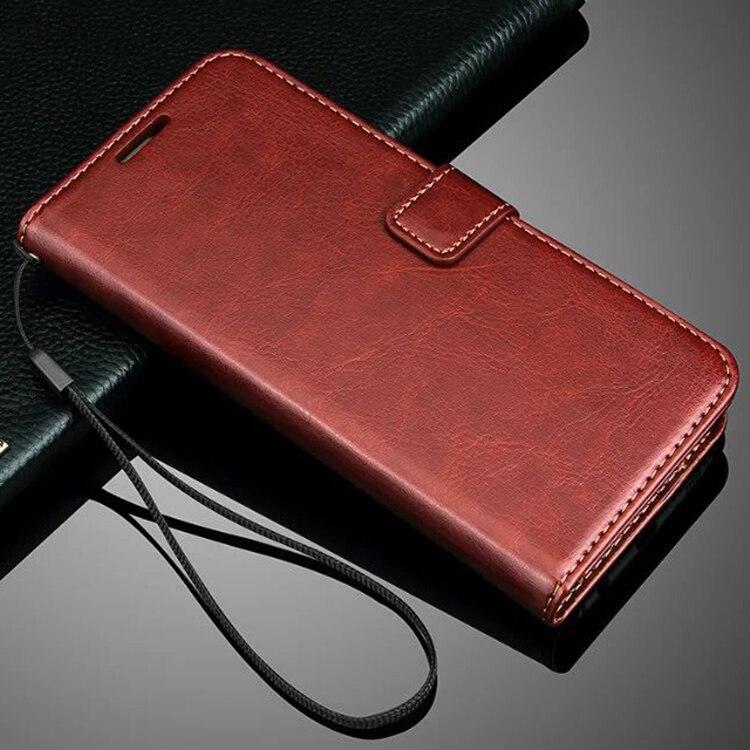 imágenes para Para samsung galaxy s7edge cubierta del teléfono flip case con soporte de la tarjeta cubierta de cuero protectora