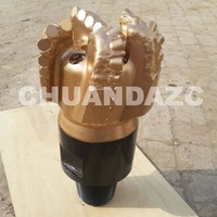Hot sale 6 1/2inch 165mm 5 blades matrix body oil drilling pdc drill bit for water well drilling