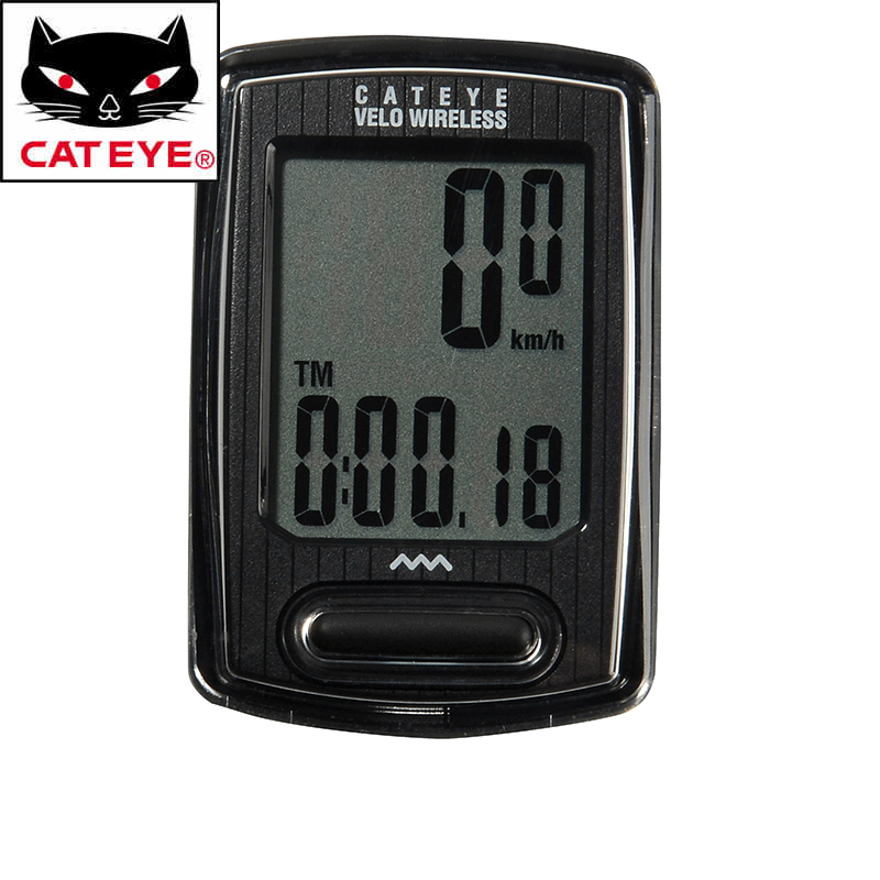 цены CATEYE CC-VT230 Multifunction Bike Bicycle Wireless Stopwatch Computer Cycling Riding LCD Back Light Sensor Odometer Speedometer
