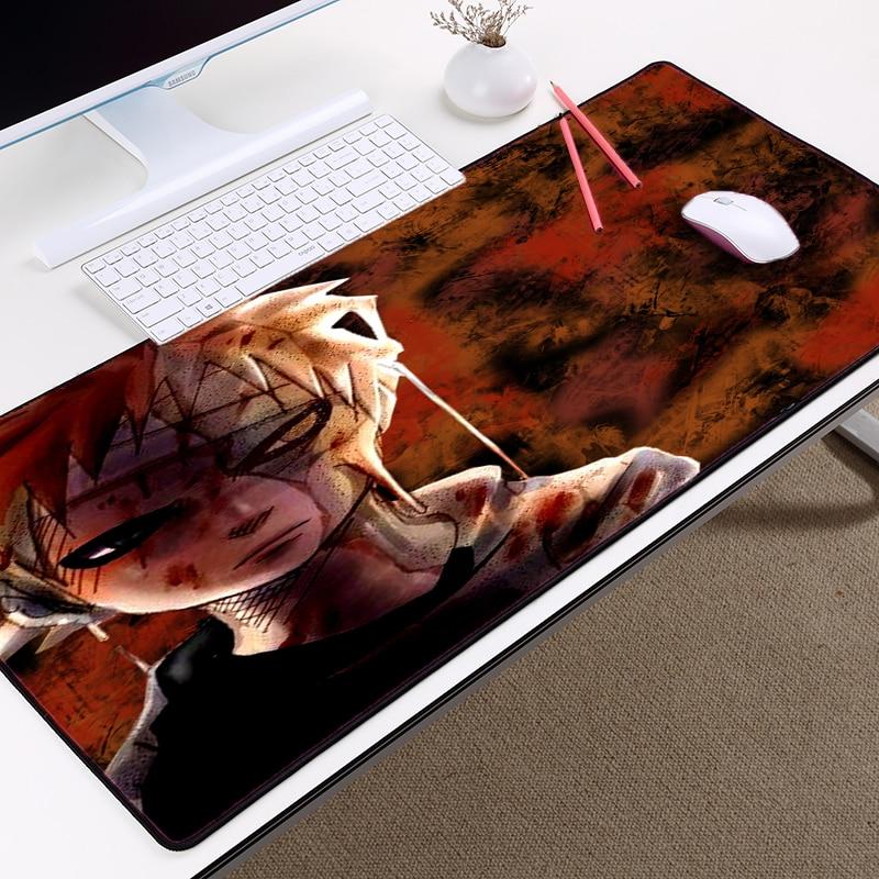 Mairuige Гаара аниме Мышь pad 300x700x2 мм Наруто Мышь коврики Uzumaki Naruto большие Размеры ноутбука ноутбуки PC игровой Мышь колодки
