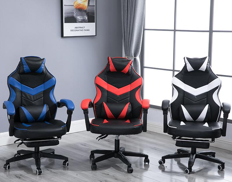 Image 3 - Gaming Chair Electrified Internet Cafe Pink Armchair High Back Computer Office Furniture Executive Desk Chairs Recliner-in Office Chairs from Furniture
