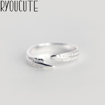 RYOUCUTE 100 prawdziwy kolor srebrny biżuteria moda proste duże pierścienie liści dla kobiet oświadczenie Bijoux antyczny pierścionek Anillos tanie i dobre opinie CN (pochodzenie) Miedziane Kobiety Metal TRENDY Obrączki ślubne ROUND Zgodna ze wszystkimi Poprawiające nastrój Statement Rings