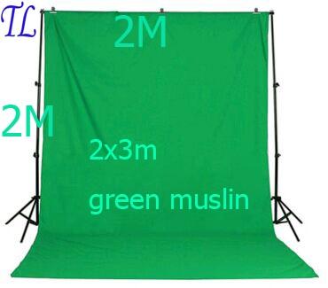 Prix pour LE BATEAU DE RUSSIANphoto studio accessoires Support De Fond 2X3 M Fond Vert blanc noir couleur mousseline 2x2 m toile de fond stand
