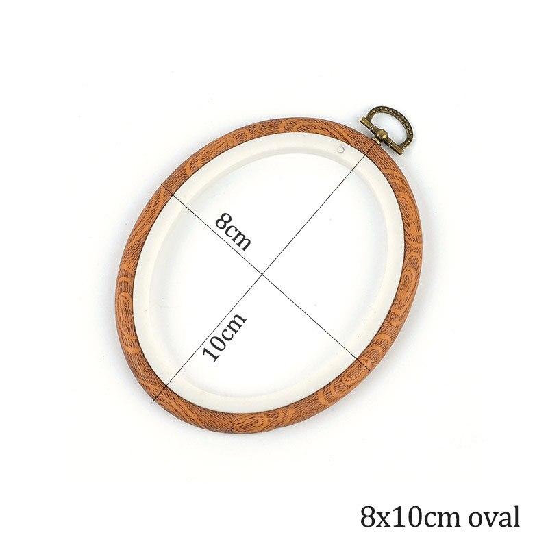 8x10cm oval