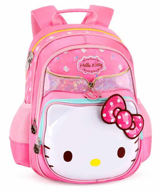 d13230e08f ... Cute Hello Kitty Bag Children School Bags Schoolbag Rucksacks Primary  Elementary School Backpacks for Girls Kids ...
