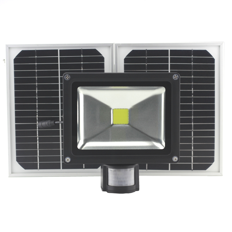 solar sensor lamp 30W Solar Light solar power led PIR Infrared Motion Security Garden flood Light ip65 outdoor Wall light