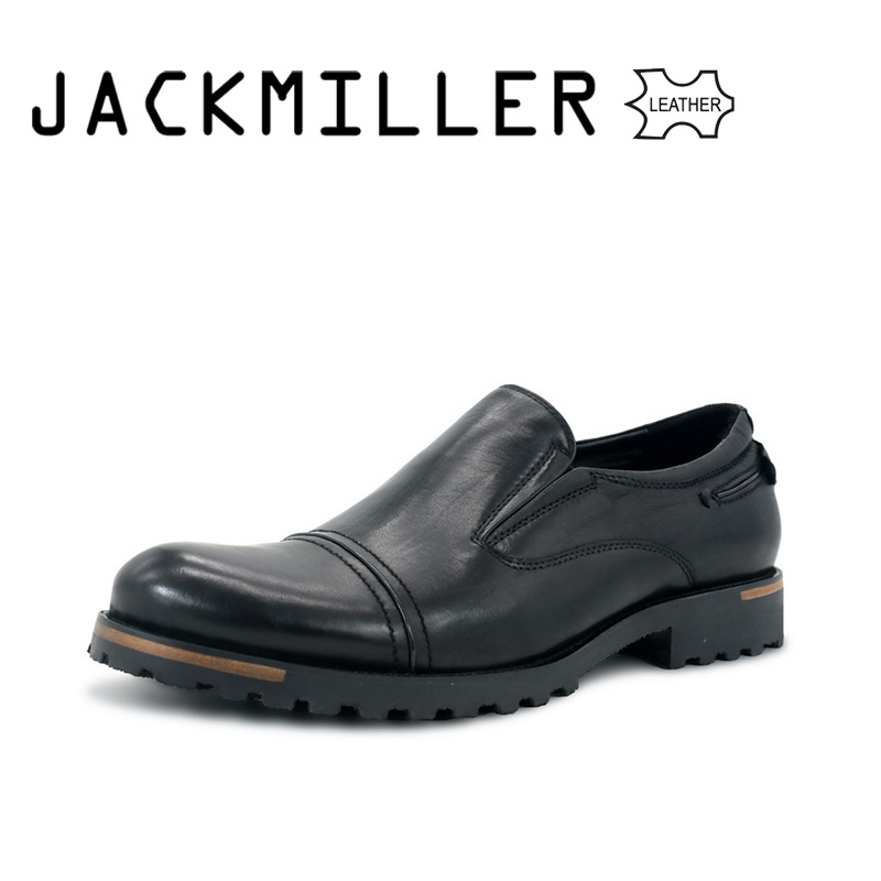 цена на Jackmiller 2018 Men Top Leather Shoes Luxury Brand Handmade Comfortable Dress Mens Flats Casual Party Driving Oxfords shoe