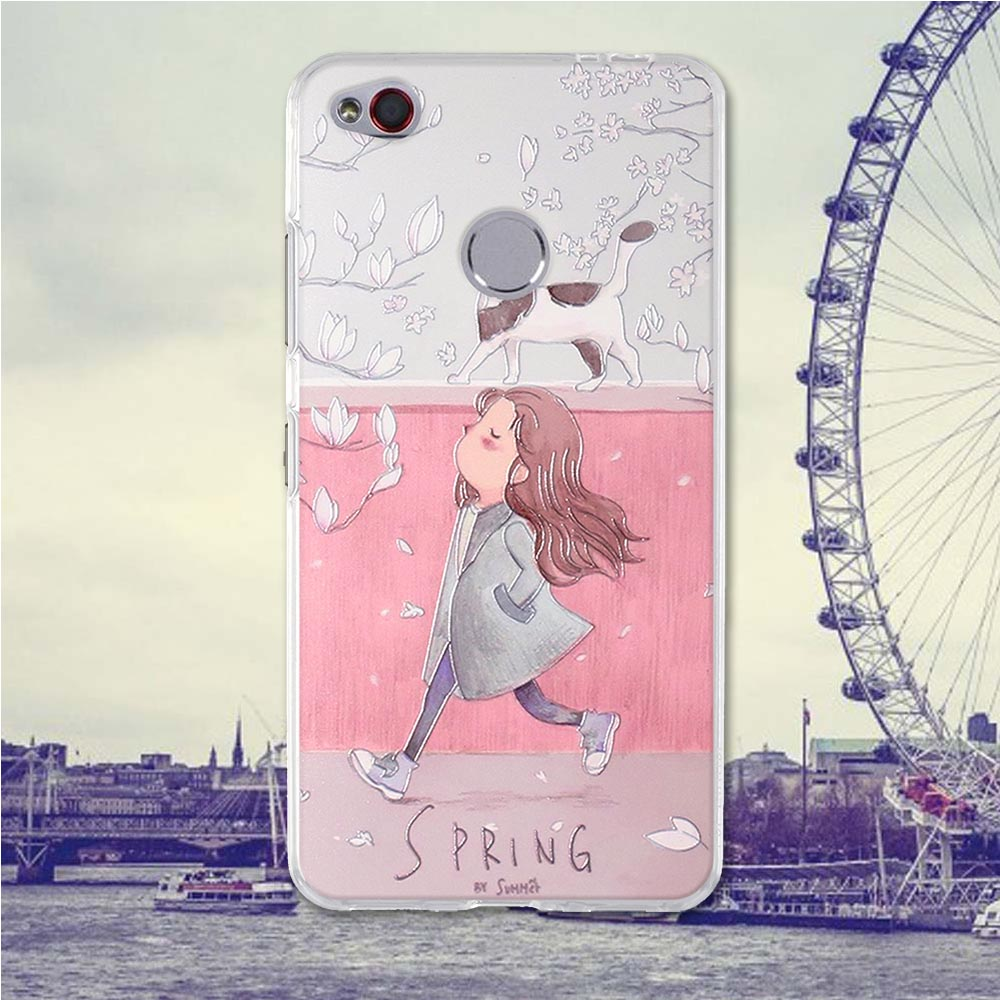 For ZTE nubia N1 Case Phone Cover for ZTE nubiaN1 Case Back Cover nubia N 1 Case Soft Silicone Shell TPU Phone Bag Painting Cute