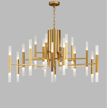 nordic postmodern led chandelier acrylic lampshade hanging lamp whth bulbs lampadari avize modern salon lustres lampadario