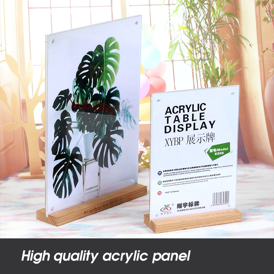 Buy Cheap 10pcs 10*15cm A6 Upright Acrylic Magnetic Label Holder Stand L Shape Poster Banner Menu List Frame Advertising Sign Holder Office & School Supplies