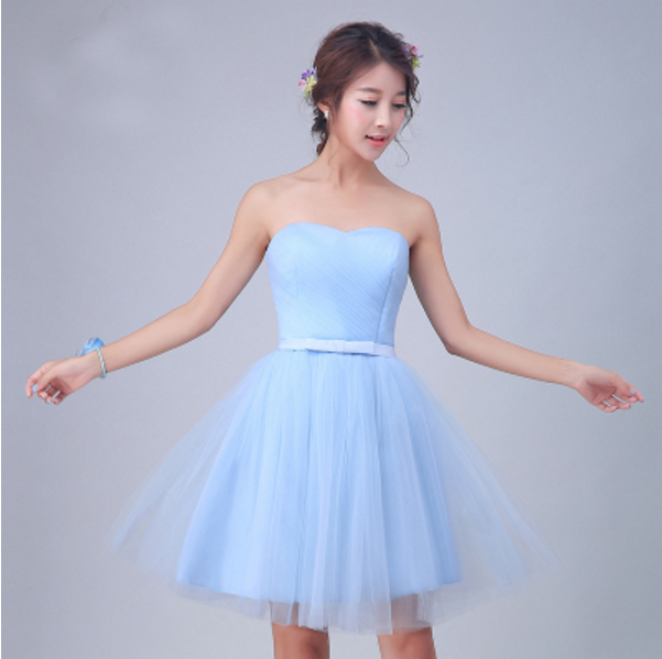 teen dress Blue