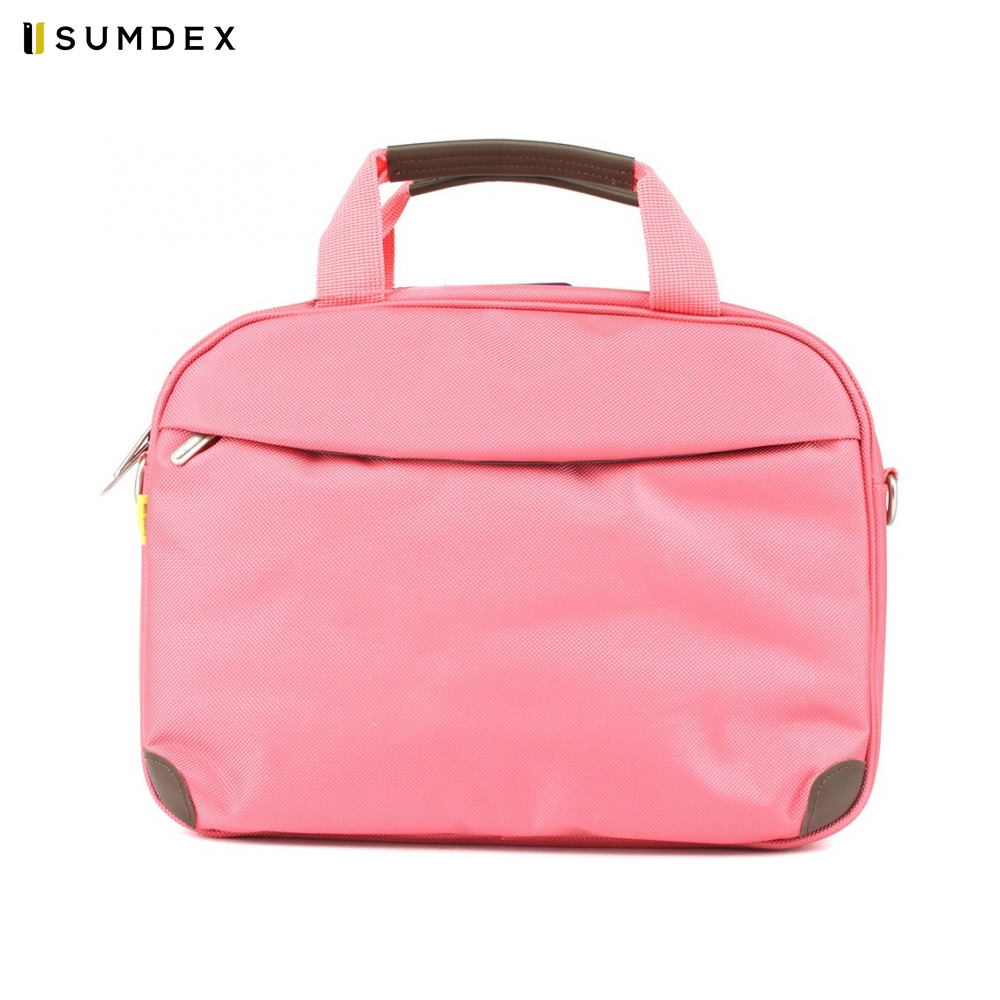 Фото - Laptop Bags & Cases Sumdex SUMPON347PK for laptop portfolio Accessories Computer Office for male female 2017 hot handbag women casual tote bag female large shoulder messenger bags high quality pu leather handbag with fur ball bolsa