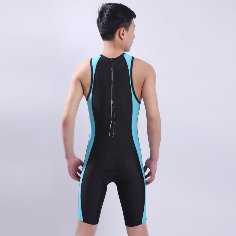 все цены на swimwear women one piece tri suit competition racing swimwuit ironman triathlon suit female male training suit