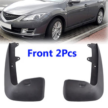 2Pc Front L/R Car Mud Flaps For Mazda 6 2009 2013 GH Series Mudflaps Splash Guards Mud Flap Mudguards Fender 2010 2011 2012