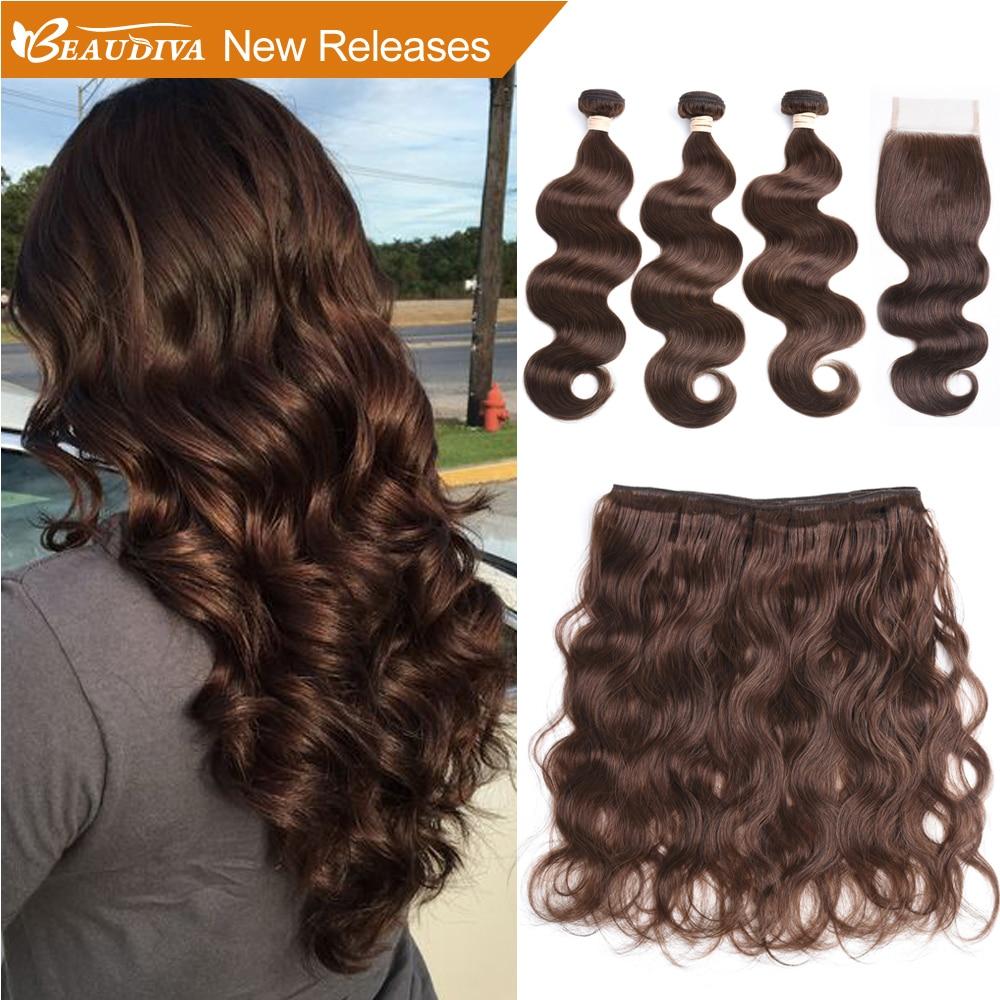 BEAUDIVA předbarvené vlasové tkaničky s 4 * 4 uzávěry 3 - Krása a zdraví - Fotografie 1