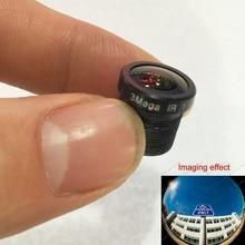 Mini HD 1.7mm 3.0MP Lens Ultra Wide Angle Fish Eye m12x05 For CCTV 720P 1080P AHD CVI TVI IR Camera