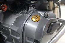 R 1200 GS PARA BMW R1200GS 2013-2018 Filtro de Óleo Do Motor Filler Cap Tanque de Moto Capas R1200 1200GS 2014 2015 2016 2017 CINZA