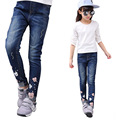 Child Cartoon Pants for Girls Denim Trousers Kids Mouse Jeans Clothes Autumn Clothing Brand Spring Children Pants 2 4 6 8 10 12Y