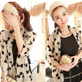 160*70CM  Wholesale new spring scarves the lovely big bowknot pattern chiffon scarf thin long chiffon shawl