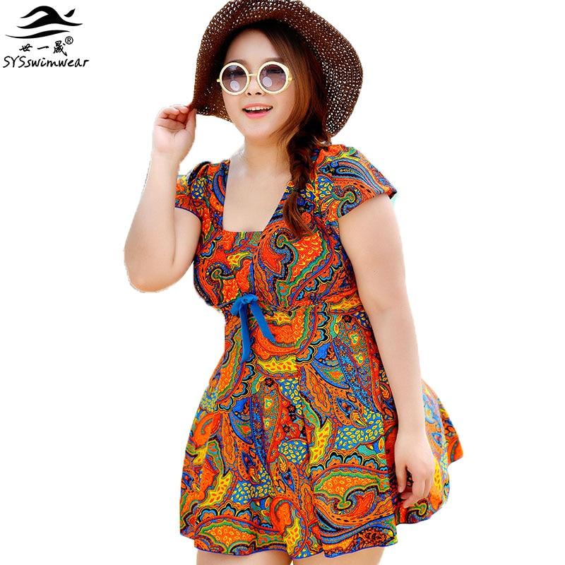 3cbe17a21a415 Супер большой 3XL - 6xl сексуальный купальник один шт летнее платье для  женщин купальники 3 цветов