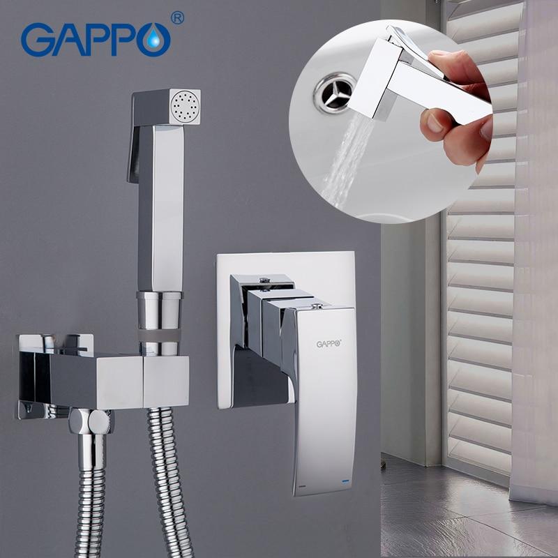 GAPPO Bidet Faucet wall mount washer tap bidet handheld shower bidet muslim shower toilet bathroom hand