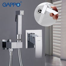 GAPPO Bidet Faucet wall mount washer tap bidet handheld shower bidet muslim shower toilet bathroom hand toilet faucet цены
