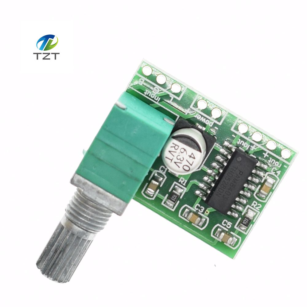 1pcs Pam8403 Mini 5v Power Amplifier Board Support Usb Supply Usbpowered Pic Programmer Circuit Schematic Digital With Switch Potentiometer Can Be Powered