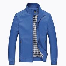 NaranjaSabor 2018 Spring Men's Jackets Men Casual Coats Men's Fashion Windbreaker Brand Clothing Male Slim Coats Plus Size M~5XL