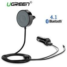 Ugreen USB Receptor Bluetooth Coche Kit Adaptador de 4.1 Cable de Audio Del Altavoz Inalámbrico Gratuito para USB cargador de coche para iPhone Manos Libres