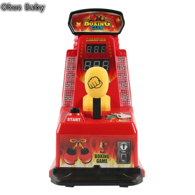 Newest Puzzle Game Fighting Stretch Machine Toy Finger Boxing Integrator Mini Table Type Finger Force King Fight For Kids Toy