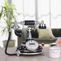 Black Diamond European Retro Old Antique Telephone landline telephone classic caller ID