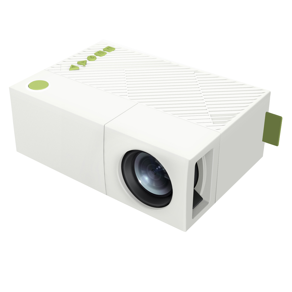 Cheapest mini pocket projector portable beamer yg310 for Miniature projector
