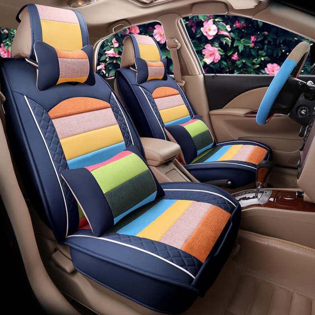 Novo esporte personalização geral tampa de assento do carro almofada carro-cobre estilo do carro para audi bmw honda crv ford nissan todos os carros